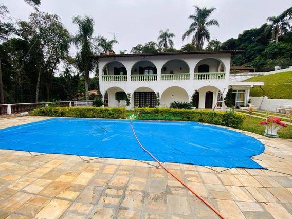 Casa Com 3 Dormitórios Para Alugar, 300 M² Por R$ 5.500/mês - Colonial Village (caucaia Do Alto) - Cotia/sp - Ca5984