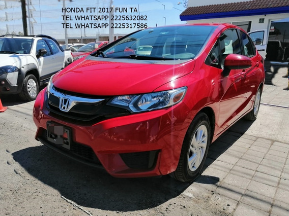 Honda Fit 2017 Fun Cvt Aut 1.5 Lts Eng $ 39,000