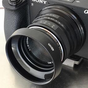Lente Grande Angular Fixa Prime Manual 25mm F1.8 Sony A6500