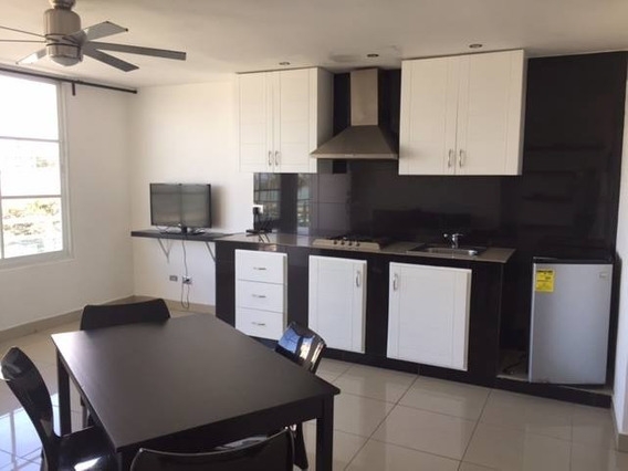 Renta Apartamento Amueblado, 1 Habitacion, Malecon