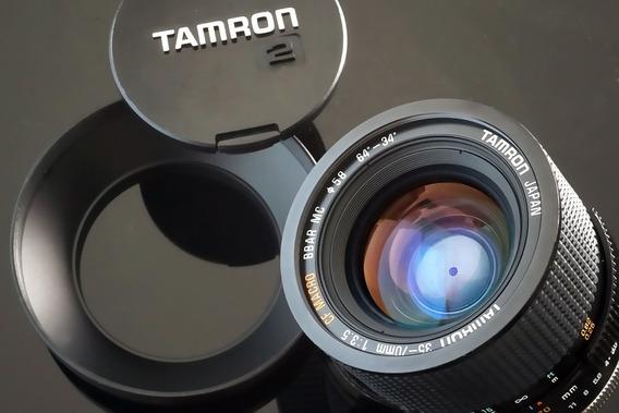 Lente Tamron Zoom Macro Bbar 35-70mm F 3.5 Constante
