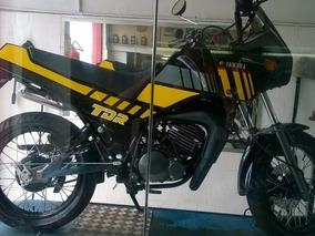 Tdr 180 - Preta Amarela Restaurada E Modernizada 2 Tempos