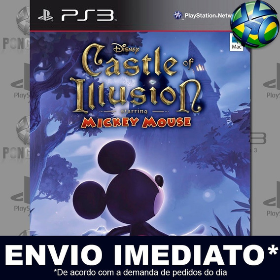 Castle Of Illusion Starring Mickey Mouse Ps3 Psn Jogo Promo