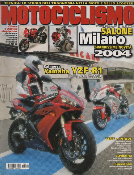 Motociclismo N°2581 Yamaha Yzf-r1 Fz6 Fazer Ducati Monster