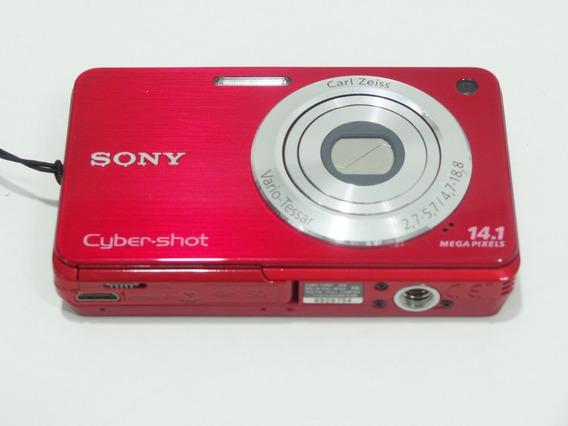 Camera Fotográfica Digital Sony W560 Barata Oferta+brindes