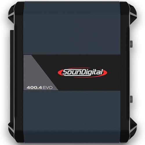 Potencia Soundigital 400.4 Evo 4.0 4 Ohms 4 Canales 400x4