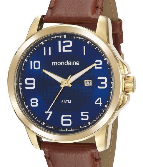 Relógio Mondaine Masculino Couro 99426gpmvdh3