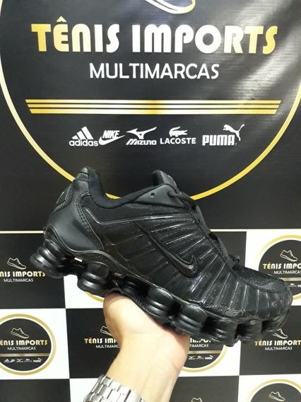 Tênis Tl 12 Molas Black Original Importado Dos E.u.a