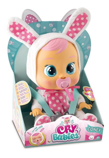 Muñeca Juguete Bebes Llorones Cry Babies Coney Boing Toys