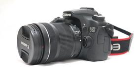 Câmera Digital Canon Eos 70d Ef-s 18-135mm 20.2 Mp, Full Hd