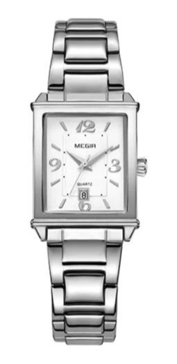 Relógio Feminino Megir Luxuoso 1079 Original Na Caixa