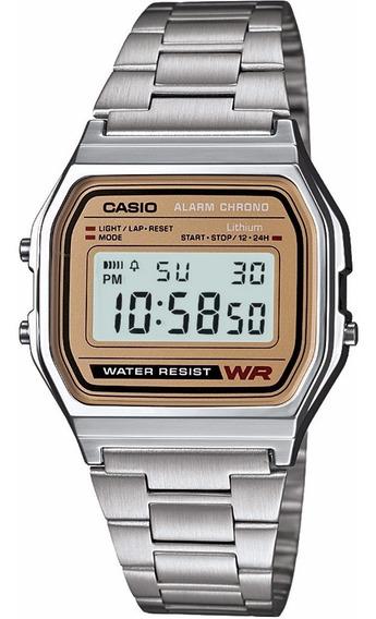Reloj Casio Vintage Original A158wea-9vt Ghiberti