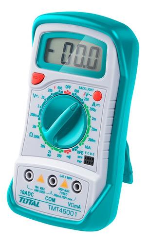 Imagen 1 de 7 de Tester Multimetro Digital Profesional Total 46001 Industrial