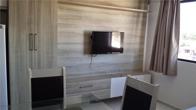 Flat Em Capim Macio, Natal/rn De 33m² 1 Quartos Para Locação R$ 1.200,00/mes - Fl257868