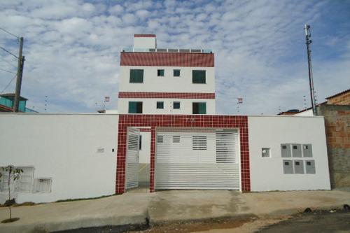Área Privativa Dois Quartos Bairro: Nacional Contagem - 1461