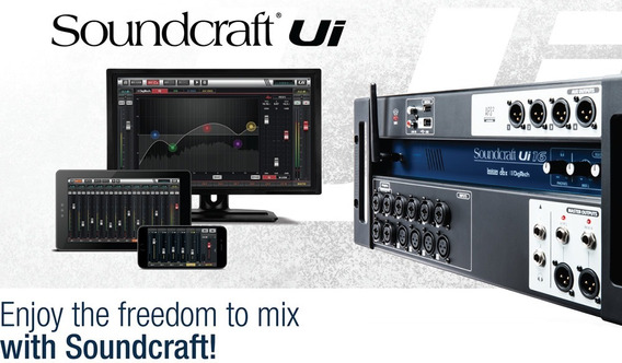 Mesa Digital Soundcraf Ui16 Mixer Digital Soundcraft Ui16