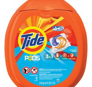 Detergente Tide Pods 2 Pzas 162 Capsulas