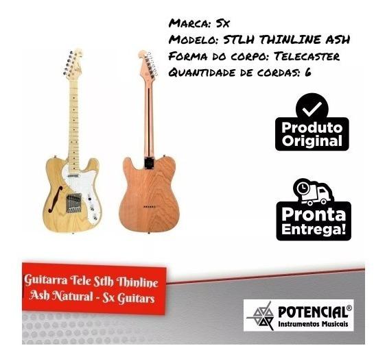 Guitarra Sx Modelo Fender Strato American Ash Maple