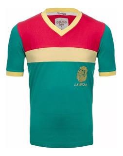 Camisa Camarões Retro 1982