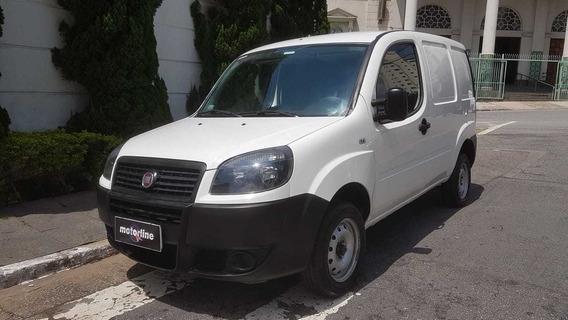 Fiat - Doblo Cargo 1.4 Flex 2016 Branco Ar E Direção