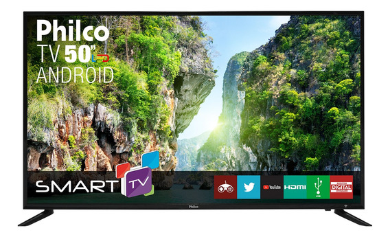 Smart Tv Philco Android Led 50 Ptv50d60sa