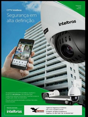 Imagem 1 de 2 de Instalação De Câmeras De Segurança, Centrais De Alarme