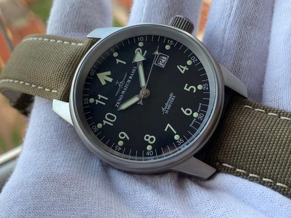 Relógio Zeno Watch Basel Pilot Automatic 6554ra-b