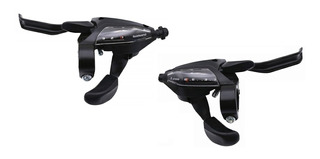 Manijas Shifter Integradas Shimano St-ef500 Para 24 Vel 3x8
