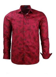 Camisa Masculina Floral Lançamento 2020 Modelo Comfort 1644