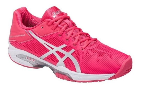 Tenis Asics Resolution Rosa Para Tenis Dama Remate
