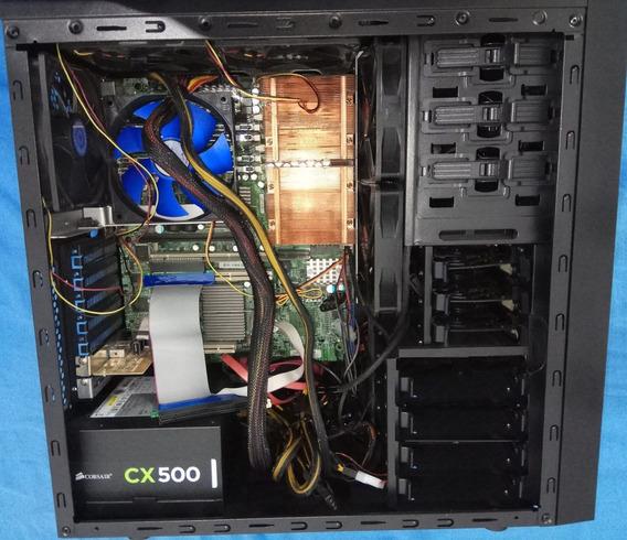 Servidor Xeon E5410 (8 Core - 4*2) 2.3ghz Ecc Corser 500w