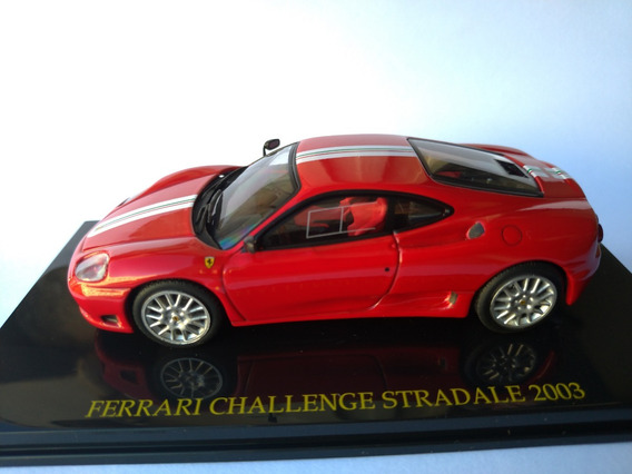 Miniatura Ferrari Challenge Stradale 2003 Ed 79 Eaglemoss