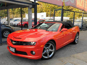 Impecable Chevrolet Camaro 6.2 Ss Paq. H Convertible At 2013