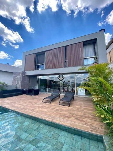 Casa Com 4 Dormitórios À Venda, 505 M² Por R$ 5.890.000,00 - Tamboré 10 - Santana De Parnaíba/sp - Ca0400
