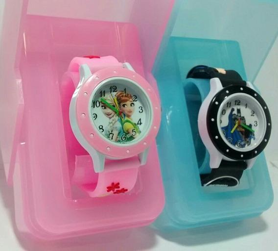 Relógio Infantil Kit C/ 1 Frozen,1 Batman Barato