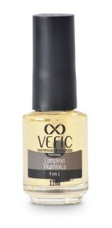 Complexo Vitaminico 4 Em 1 11ml Vefic