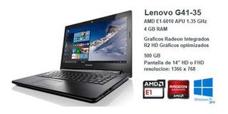 Laptop Lenovo G41-35 Dd: 500 Gb Ram: 4 Gb 35312