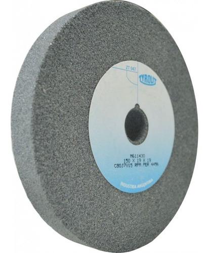 Rueda Recta Oxido Aluminio Tyrolit Diam. 175x25x19 #36
