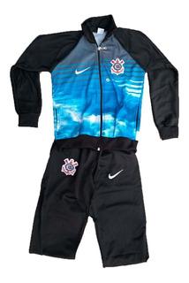 Agasalho Infantil Corinthians Timão ( Blusa E Calça) Abrigo
