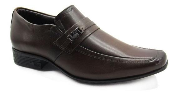 Sapato Social Masculino Jota Pe Air King 45022 Couro Legítimo