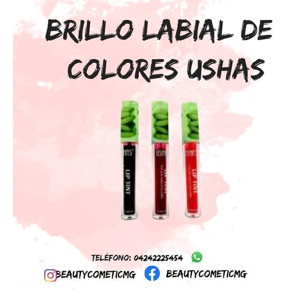 Brillo Labial De Colores Ushas