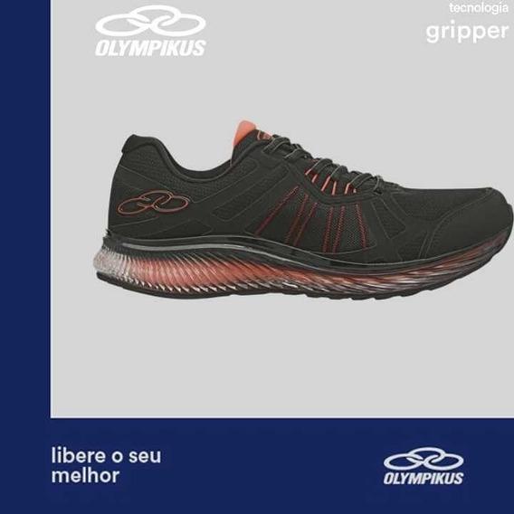 Tenis Olympikus Running Vortex 776 Preto - Produto Original