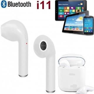 Audífonos Tactil I11 Dobles Bluetooth Manos Libres AirPods