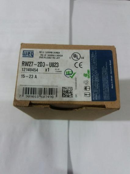 Rele De Sobrecarga Rw27 22 A 32 A Weg Modelo Novo