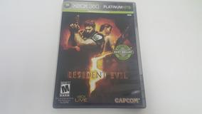 Resident Evil 5 - Xbox 360 - Original - Platinum Hits
