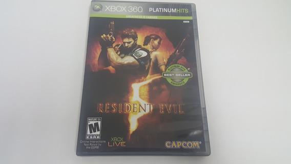 Jogo Resident Evil 5 - Xbox 360 - Original - Platinum Hits