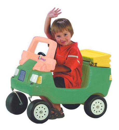 Auto Buggy Verde Capota Amarilla Rotoys Original Cuotas