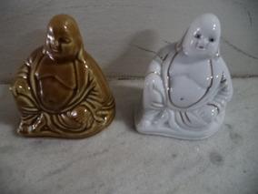 Buda Em Porcelana Antiga/bibelô/bixos/decoração Antiga