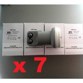 Kit 7 Lnb Duplo Universal (cabbletech/solutions/wnc)