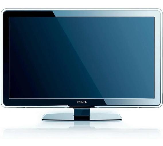 Tv Lcd Hd 42 Polegadas Philips (tv + Controle + Suporte)
